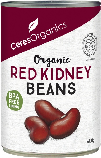 Ceres Organics Red Kidney Beans 400g (Can)