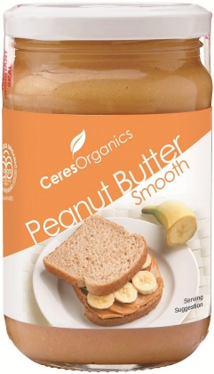Ceres Organics Peanut Butter Smooth 300g
