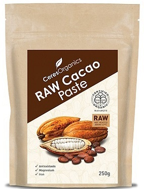 Ceres Organics RAW Cacao Paste 250g