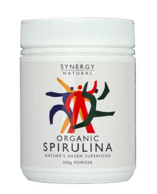 Synergy Spirulina Powder 200gm Organic