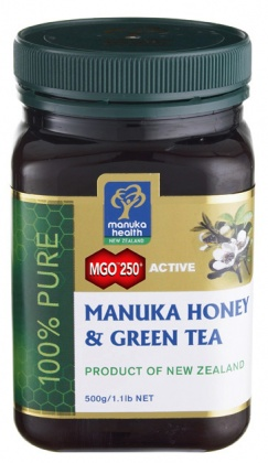 Manuka Health Honey  with Green Tea Extract 500g