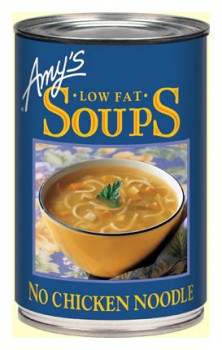Amys Organic Can No Chicken Noodle Soup 400g