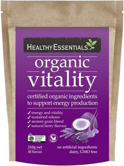 Healthy Essentials Organic Vitality 210g