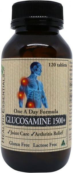 Healthy Essentials Glucosamine 1500mg 120tablets