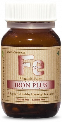 Healthy Essentials Organic Iron Plus Twin (2x30) 60caps