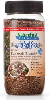 Natures First Brown Flax Seeds Shaker 370g