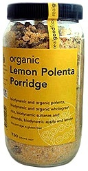 Real Good Foods Lemon Polenta Porridge Jar700g