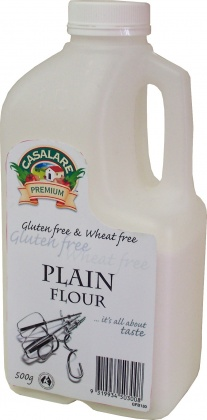 Casalare Plain Flour 500g Bottle