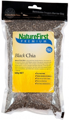 Natures First Chia Black 500g