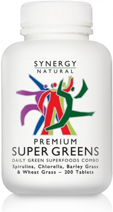 Synergy Super Greens 200 tabs Premium