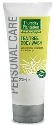 Thursday Plantation Tea Tree Body Wash Organic 200ml