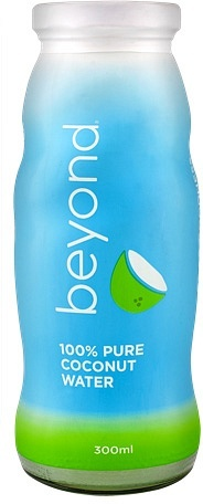 Beyond 100% Pure Coconut Water 24x300ml Glass