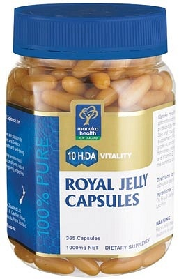 Manuka Health Royal Jelly Caps 365s