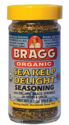 Bragg Seasoning Sea Kelp Delight Organic 76g