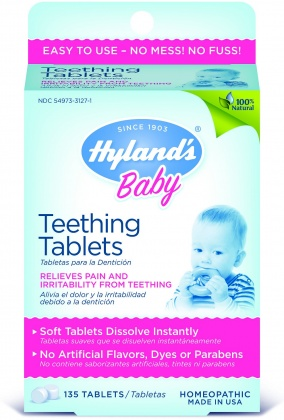 Hyland's Baby Teething Tablets 135Tabs