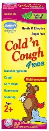 Hyland's Kids Cold 'n Cough 118ml