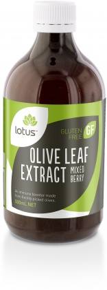 Lotus Olive Leaf Extract Mixed Berry 500ml