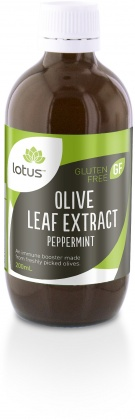 Lotus Olive Leaf Extract Peppermint 200ml
