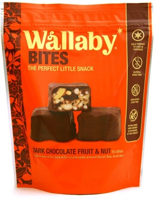 Wallaby Bites Dark Chocolate Fruit&Nut 150g