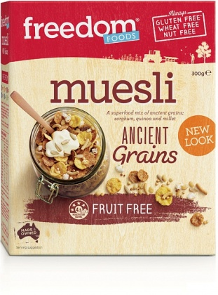 Freedom Foods Ancient Grains Fruit Free Muesli 300g