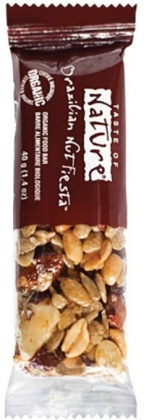 Taste of Nature Organic Brazilian Nut Fiesta Bar  16x40g