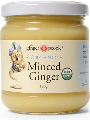 TheGingerPeople Organic Minced Ginger  190gm