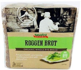Natures First Organic Long Life Rye Bread 500g