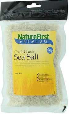 Natures First Sea Salt Celtic Course 500g