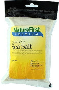 Natures First Sea Salt Celtic Fine 500g