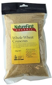 Natures First Organic Cous Cous Whole Wheat 500g