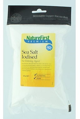 Natures First Iodised Sea Salt - No Flowing Agent 500g