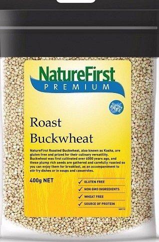 Natures First Buckwheat Roast 400gm