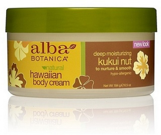 Alba Hawaiian Kukui Nut Body Cream 180gm