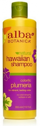 Alba Hawaiian Plumeria Replenishing Hair Wash 350ml