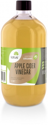 Lotus Organic Apple Cider Vinegar + (Mother)  1Lt