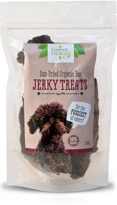 Complete Health Organic Sun Dried Roo Jerky Treats 100g