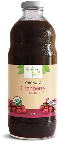 Complete Health Organic Cranberry 100% Juice 700ml