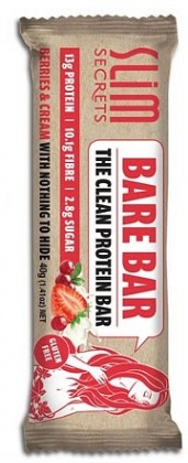 Slim Secrets Bare Bar Berries & Cream  12x40g