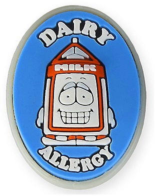 AllerMates Dairy Allergy Charm
