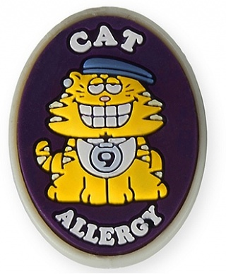 AllerMates Cat Allergy Charm