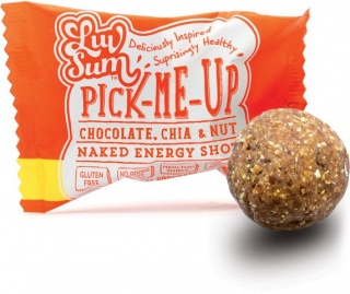 Luv Sum Natural Energy & Protein Balls Chocolate, Chia & Nut  12x42gm