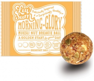 Luv Sum Natural Energy & Protein Balls Morning Glory 12x42gm