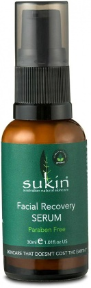 Sukin Super Greens Facial Recovery Serum 30ml Pump