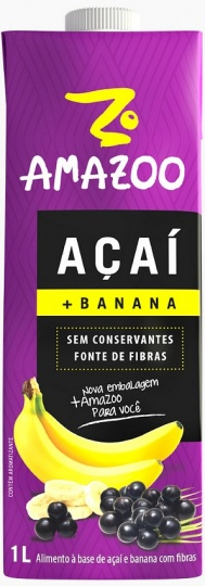 Amazoo Acai Smoothie Banana 1L