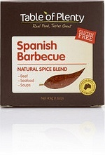 Table of Plenty Spanish Barbecue Spice Blend  45g