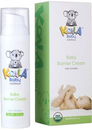 Koala Baby Organic  Baby Barrier Cream 75ml