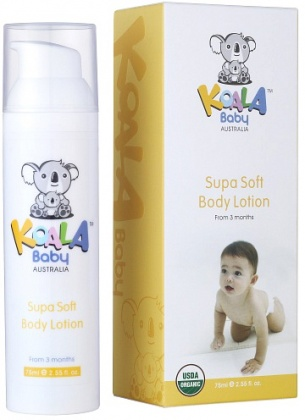 Koala Baby Organic  Supa Soft Body Lotion 75ml