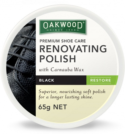 Oakwood Renovating Polish Black 65g