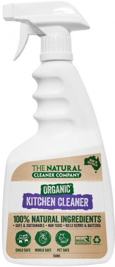 The Natural Cleaner Company Organic Kitchen Cleaner 750ml