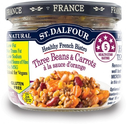 St Dalfour All Natural Ready to Eat Three Beans & Corn Salad Gluten Free in Glass 200g